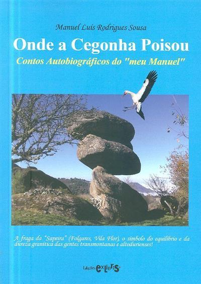Onde a cegonha poisou (Manuel Luís Rodrigues Sousa)