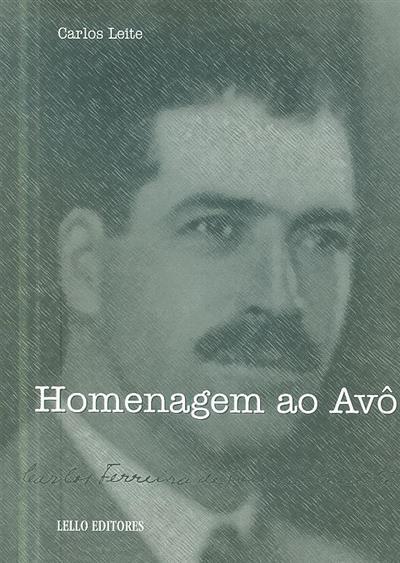 Homenagem ao avô (Carlos Leite)