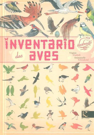 Inventário ilustrado das aves (Virginie Aladjidi)