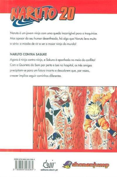 Naruto contra sasuke (Masashi Kishimoto)
