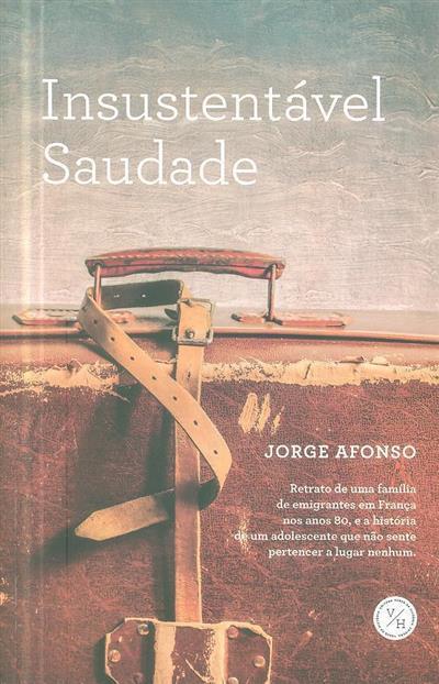 Insustentável saudade (Jorge Afonso)