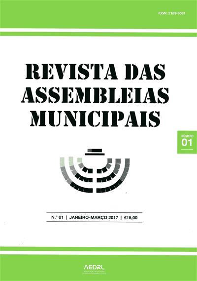 Revista das assembleias municipais (Associação de Estudos de Direito Regional e Local)