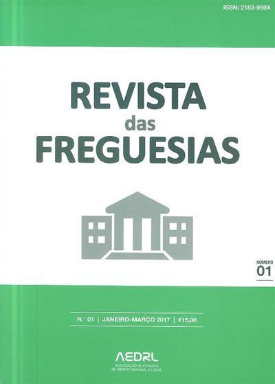 Revista das freguesias (Associação de Estudos de Direito Regional e Local)