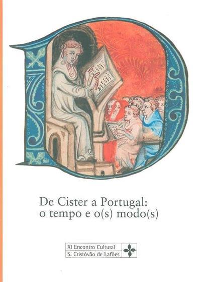 De Cister a Portugal (XI Encontro Cultural de São Cristovão de Lafões)