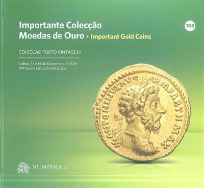 Importante coleção moedas de ouro ([org.] Numisma)