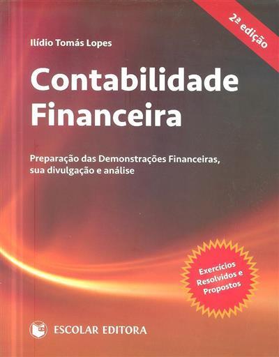 Contabilidade financeira (Ilídio Tomás Lopes)