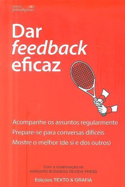Dar feedback eficaz (trad. Pedro Elói Duarte)