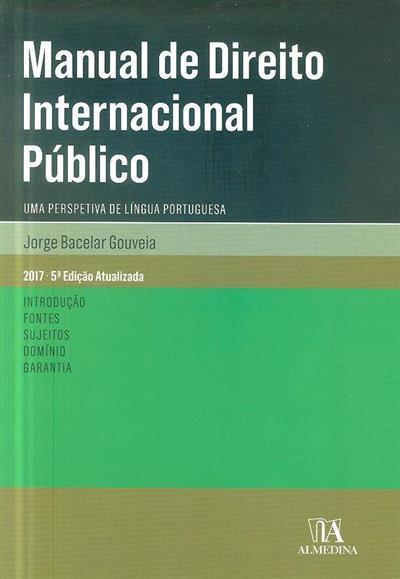 Manual de direito internacional público (Jorge Bacelar Gouveia)
