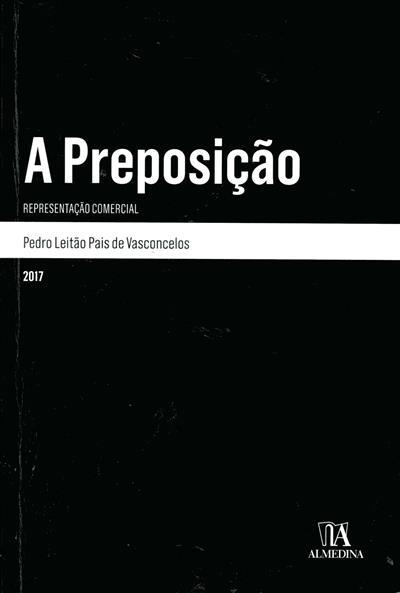 A preposição (Pedro Leitão Pais de Vasconcelos)