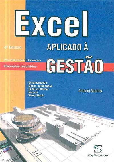 Excel aplicado à gestão (António Gonçalves Martins Martins)