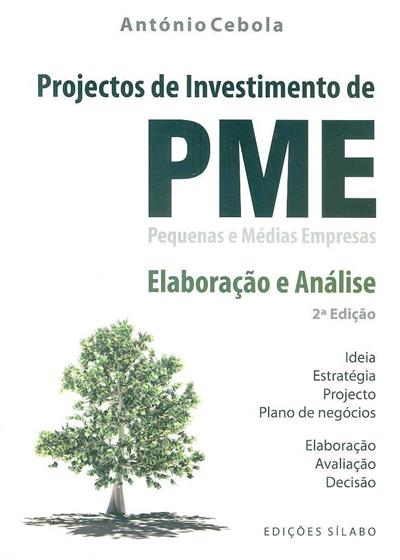 Projectos de investimento de pequenas e médias empresas (António Cebola)