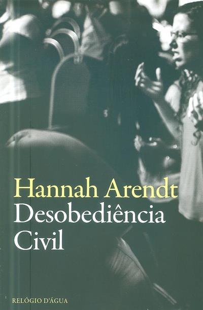Desobediência civil (Hannah Arendt)
