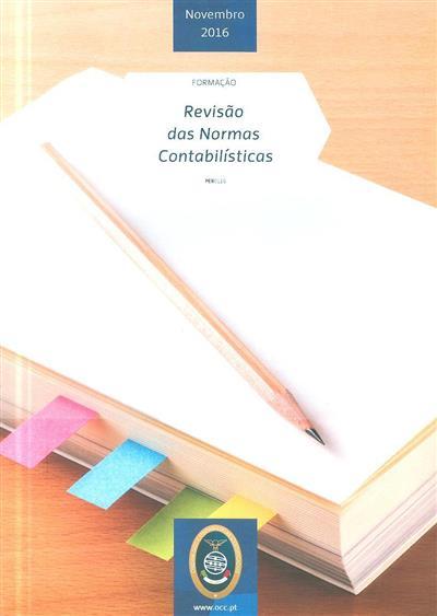 Revisão das normas contabilísticas (Joaquim Sant'ana Fernandes, Cristina Gonçalves)