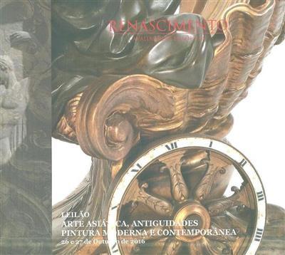 Arte asiática, antiguidades, pintura moderna e contemporânea (Renascimento - Avaliações e Leilões)