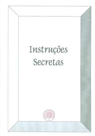 Instruções secretas