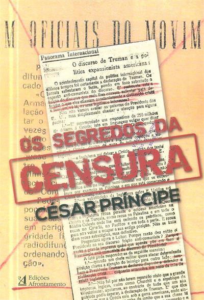 Os segredos da censura (César Príncipe)