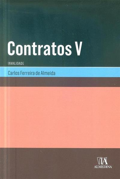 Contratos (Carlos Ferreira de Almeida)
