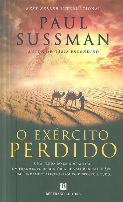 O exército perdido (Paul Sussman)