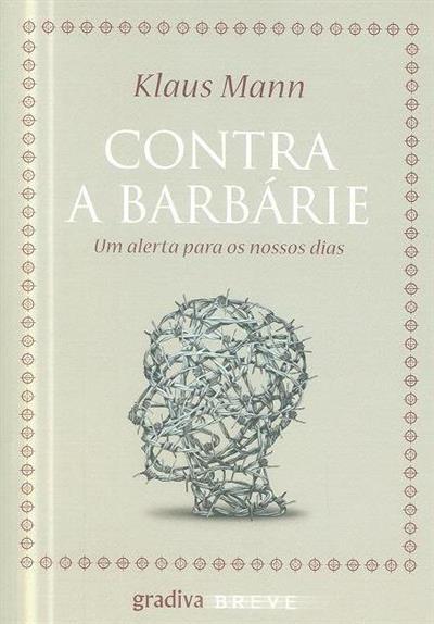 Contra a Barbárie (Klaus Mann)
