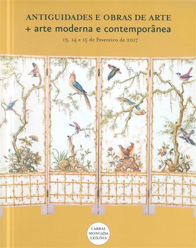 Antiguidades e obras de arte + arte moderna e contemporânea (coord. Mariana Soares Mendes)