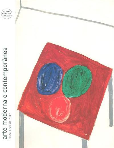 Arte moderna e contemporânea (coord. Mariana Soares Mendes)