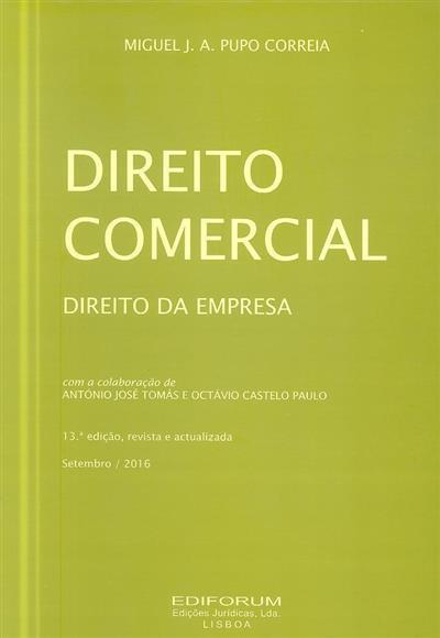 Direito comercial (Miguel J. A. Pupo Correia)