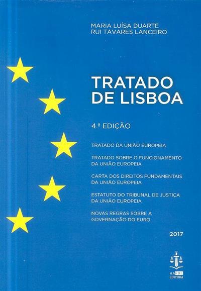 Tratado de Lisboa (Maria Luísa Duarte, Rui Tavares Lanceiro)