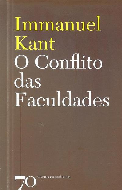 O conflito das faculdades (Immanuel Kant)
