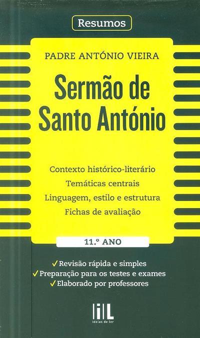 Sermão de Santo António, Padre António Vieira (Auxília Ramos... [et al.])
