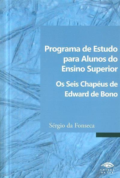Programa de ensino para alunos do ensino superior (Sérgio da Fonseca)