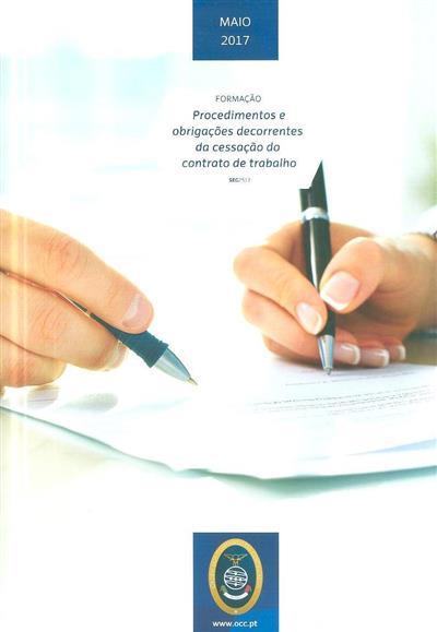 Procedimentos o obrigações decorrentes da cessação do contrato de trabalho (Filipa Magalhães)