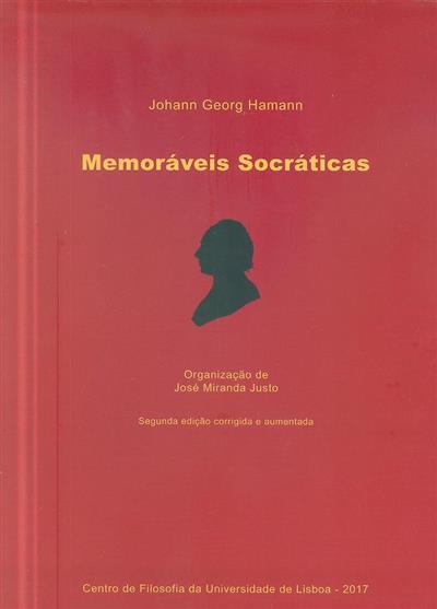 Memoráveis socráticas (Johann Georg Hamann)