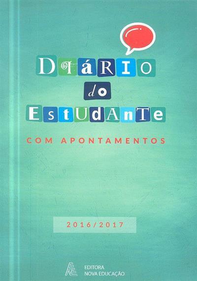 Diário do estudante com apontamentos, 2016-2017 (CALP, Hugo Alves, Francisco Silva)
