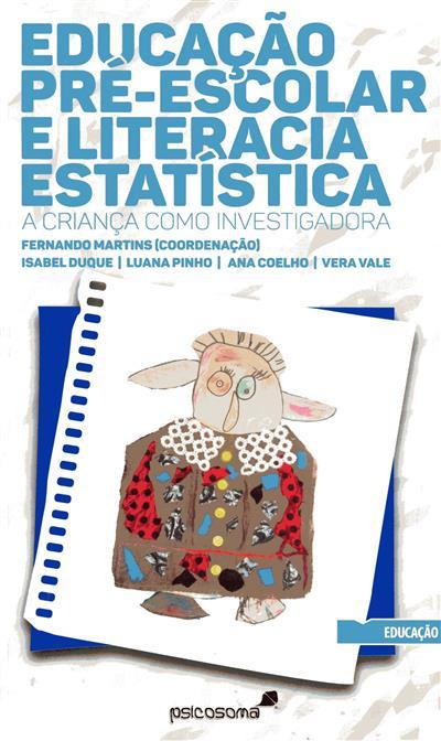 Educação pré-escolar e literacia estatística (Isabel Duque... [et al.])