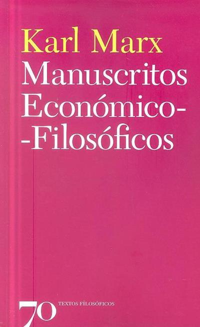 Manuscritos económico-filosóficos (Karl Marx)