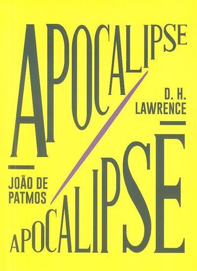 Livro do apocalipse ou a revelação de Jesus Cristo (João de Patmos)