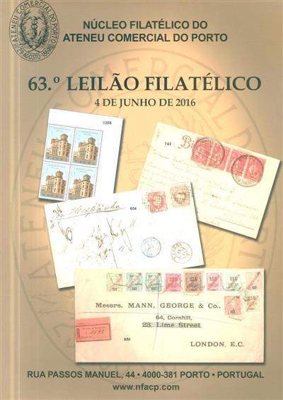 63º leilão filatélico