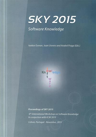 SKY 2015 (of the 6th International Workshop on Software Knowledge)