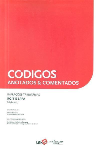 Infrações tributárias (coord. Glória Teixeira, Rui Miguel Zeferino Ferreira)