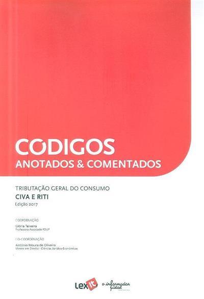 Tributação geral do consumo (coord. Glória Teixeira, António Moura de Oliveira)