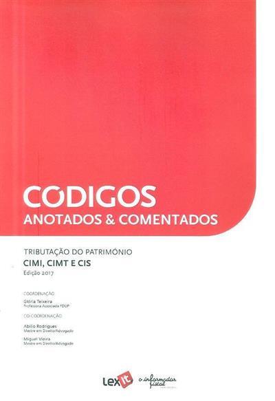 Tributação do património (coord. Glória Teixeira, Abílio Rodrigues, Miguel Vieira)