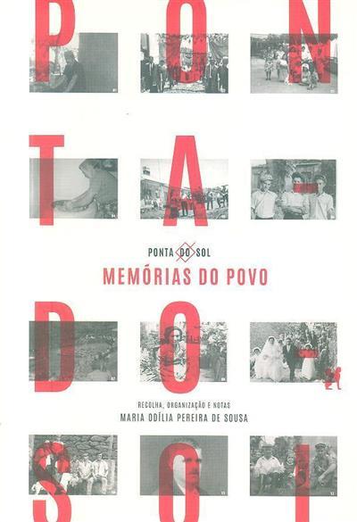 Ponta do Sol (recolha, org. e notas Maria Odília Pereira de Sousa)