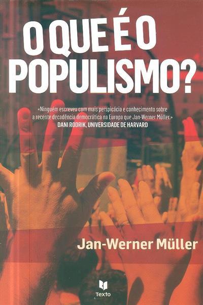 O que é o populismo? (Jan-Werner Müller)