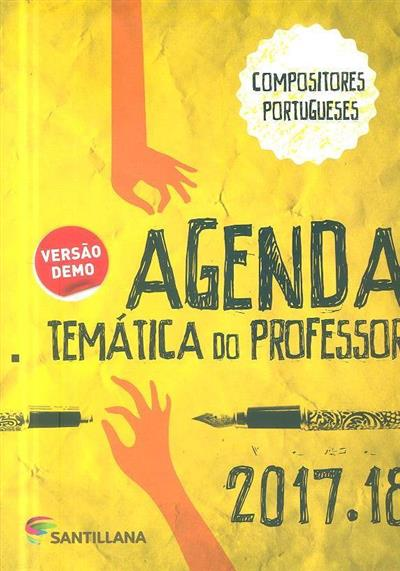 Agenda temática do professor