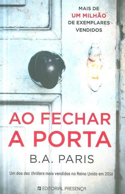Ao fechar a porta (B. A. Paris)