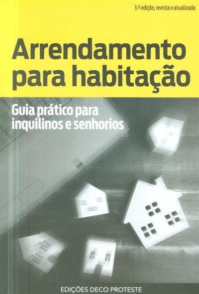 Arrendamento para habitação (coord. João Mendes)
