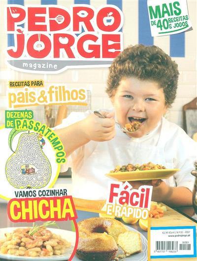 Pedro Jorge magazine (coord. Valter Guerra)