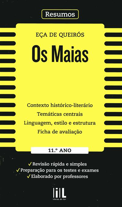 Os Maias [de] Eça de Queirós (Auxília Ramos, Zaida Braga, Isabel Castro)