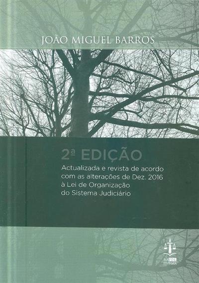 Sistema judiciário anotado (João Miguel Barros)