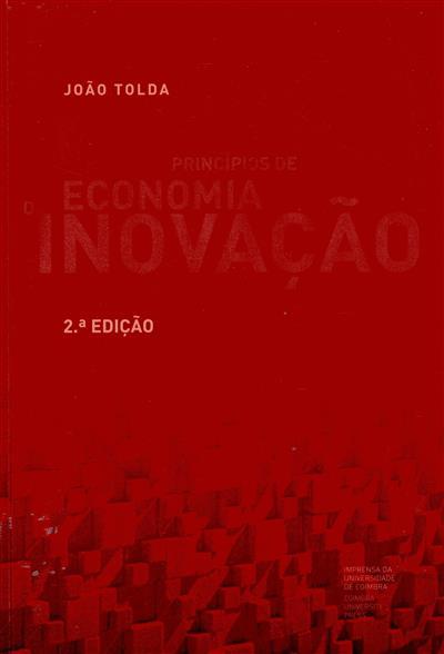 Princípios de economia da inovação (João Tolda)